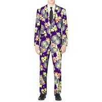 Men's Suits & Blazers African Printed Man's Dashiki Print Suit Jackets And Pant Men For Party Africa Man Clothing Customized