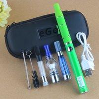 Min.1set 4-In-1 Kit UGO-V2 900mAh 510 Thread Vape Pen Battery With USB Charger Fit CE4 MT3 Globe Wax Atomizer Thick Oil Vape Cartridges Zipper Case