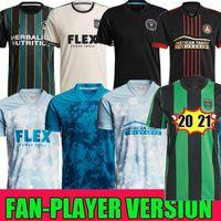 MLS 2021 Parley Primeblue Kit Inter Miami CF Jersey 2022 Los Angeles La Galaxy 21 22 Austin Beckham Atlanta United LaFC Philadelphia União Union Camisas