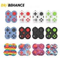 Festeta Festa Pad de Brinquedo Segunda Geração Puzzle Cubo Hand Shank Jogo Controladores Stress Relief Finger Decompression Ansiety Toys