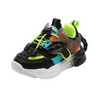 Athletic & Outdoor Kids Sport Shoes For Girls Boys Colorful Sneakers Fashion Children Baby Soft Bottom Breathable 1-6 Years