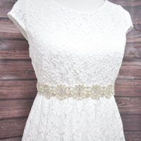 Belts Fashion Women's Wedding Sash,Bridal Belt, Bridesmaid Sash Handmade With Satin Ribbon