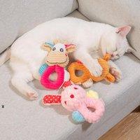 Süßes Haustierspielzeug Sound Chew Squeaker Tiere Plüsch für Hunde Katzen Quietschen Spielzeug Hundewaren NHA5596