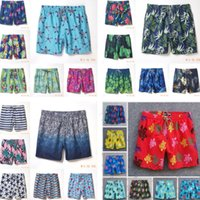 03 swim quick drying men's beach pants turtle vilebrequin fashionable urban leisure hip hop printed shorts swimwear swimming trunk