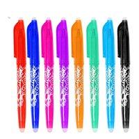 Löschbaren Stift Pens Kugelschreiber Highlighter Farbe Tinte 0.5mm Kugel Nib Gel Auf Wasserbasis Feder-Schreipapier WLL740
