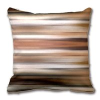 Cushion Decorative Pillow Abstract Modern Brown Stripes Decorative Cushion Cover Case Customize Gift By Lvsure For Car Sofa Seat Pillowcase