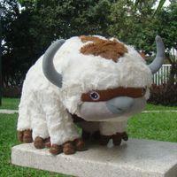 Peluche di alta qualità Avatar 2 Aang Resource 45cm Appa Piewed Animal Fluffy Toys Cuddly Doll G0913