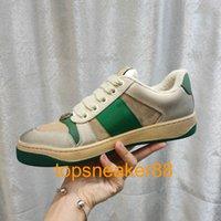 Marca desconto Casual clássico homem sapatos screener sujo mens sneaker mulheres moda couro lace up white woman design sapato