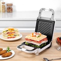 Mini Electric Sandwich Maker Waffle Toaster Pancake Baking Machine Multifunction Breakfast Frying Pan Sandwichera Bread Makers