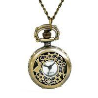 Bolso pequeno relógio Bronze Hollow Coelho com chave 8895