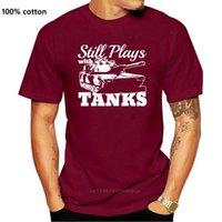 Polo Shir Fashion Hombres Tops Cool O Cuello Personalizado Perfection Todavía jugando con tanques WWII World War de 1939 Panzer Photo T Shirts