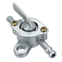 Universal 6mm Motorcycle Gas Fuel Tank Switch Cock Tap Valve Petcock For 50cc 110cc 125cc ATV Dirt Pit Bikes System