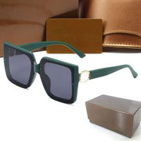 High Quality Womans Sunglasses Luxury Mens Sun glasses 6188 UV Protection men Designer eyeglass Gradient Metal hinge Fashion women spectacles with Original boxs