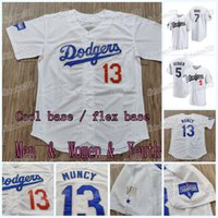 13 Max Muncy 2021 Gold World Series Dodgers Jersey Corey Seager Cody Bellinger Dustin May David Prezzo Julio Urias Sheldon Neuse Justin Turner AJ Pollock Mookie Betts