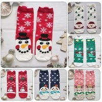 Christmas Decorations 43 Style Men Socks Funny Xmas Santa Claus Tree Snowflake Elk Snow Cotton Tube Crew Happy Sock Year Sokken