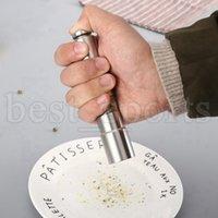 دليل الفلفل المطاحن طاحونة الفولاذ المقاوم للصدأ الملح مولر التوابل صلصة الفلفل الرئيسية المطاحن أدوات المطبخ CYZ3160