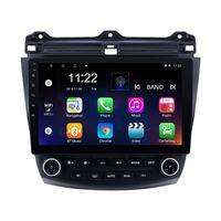 10,1-дюймовый Android 10 автомобильный DVD GPS навигационная навигация Радиостерный проигрыватель на 2003 год 2004 2005 2006 2007 Honda Accord 7 головной блок