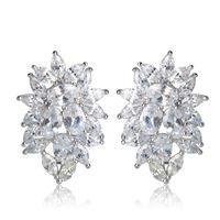 Stud Blucome Unique Multicolor Jewelry Royal Design Bridal Earrings Max Brincos Grands For Women Colares Bijuterias