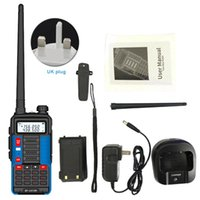 Walkie Talkie Station USB Charging With Backlight Two Way Outdoor Telecommunications Camping VHF UHF Radio 16W Hunting Dual Band