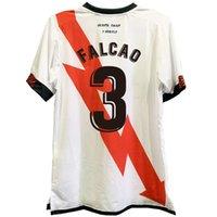 Rayo Vallecano High Quality Camisetas Soccer Jersey Customize Falcao Unai Lopez Cabrera