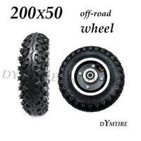 Roue avant 200x50 pneu de routes pour mini électriques Scooter antidérapant Pièces de rechange de pneus Pneumées de moto Pneus