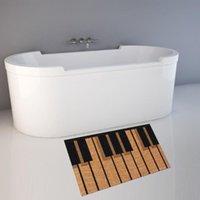 Tapis Cammitever Tapis de la poussière de poussière Tapis de piano Tapis de piano dans la salle de bain de couloir Baignoire à l'entrée antidérapante