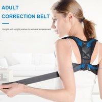 Back Support Posture Corrector Invisible Women Men Belt Shoulder Adjustable Clavicle Spine Lumbar