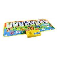 Crianças Brinquedos Tapetes Musical Eletrônico Tapetes Teclado Bebê Piano Play Mat Toy Instrumento Musical Música Brinquedos Educativos