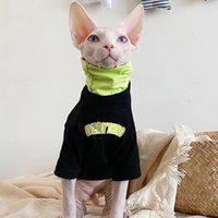Cat Costumes Sphynx Clothes Autumn Fashion Jacket For Sphinx Kitten Designer Comfort Sphinksu Clothing Coat Sweatshirt