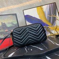 2021 оптом кожаная сумка на плечо мода мода волна цепи кошелек кошелек сумочка пресбиопическая открытка держатель вечерних сумков посланник женщины