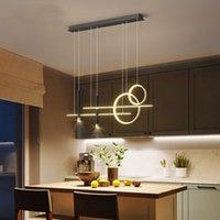 Modern Led Pendant Lamp Art Living Room Center Table Dining Desks Kitchen Home Decoration Accessories Lighting Hanging Fixture R459