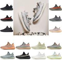 2021 Hommes Femmes Chaussures Courir 3M Bred Ash Pearl Carbon Zebra Israfil Earth Sand Statique Noir Yecheil Mens Baskets Sneakers EUR 36-47