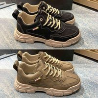 5A Top High Quality Italy Mens Casual Shoes 2021 Genuine Leather Suede New Italian Fashion Man Outdoor Sneakers Platform Trainers