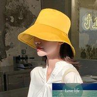Beanie Skull Caps Bucket Women's Summer Japanese Hat Men's Sun-Proof Sun Korean Style Trendy All-Match Wide Brim Cap1
