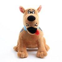 Oyuncaklar 18 cm Scooby Doo Köpek Peluş Doldurulmuş Bebek Oyuncak Çocuk Hediyeler