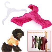 Длительные вешалки для собак для собак 18 см 25 см длина высокого качества пластиковый щенок кошка одежда стойки домашних животных аксессуары