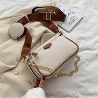Designer Messenger Bag Genuine Leather New Trend All-match Picture-mother High-end Chain Fashion Multi Pochette Accessoires Bestselling Shoulder Bags Handbag