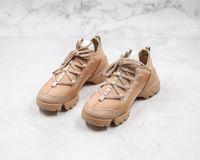 Dior shoes 2021 بيع mens النساء النيوبرين grosgrain الشريط d-connect رياضة الراحة السيدات التفاف حول المطاط الوحيد عارضة تنفس المشي اللباس أحذية حجم 35-45