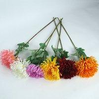 Handgemachte Simulation Chrysantheme Blume Topfpflanze Hochzeit Festival Partei liefert Moderne Minimalismus Stil Dekoration ZWL459