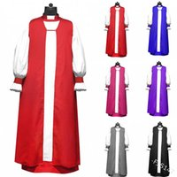 Mittelalterliche lange Plattform-Kirchenhalle-Kleid F1S147