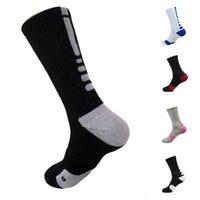 DHL Gemi ABD Profesyonel Elite Basketbol Çorap Uzun Diz Atletik Spor Çorap Erkekler Moda Sıkıştırma Termal Çorap FY7322