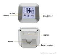 TouchScreen ЖК-дисплей цифровой кухня Таймер Практичная варочная таймер обратного отсчета Подсчет будильник кухня (не батарея) BWD7532