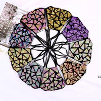 Glitter Face Cover Sequin Decorative Rhinestone Mask for Women Fashion Leopard Fancy Womens Cloth Masks DHB10243