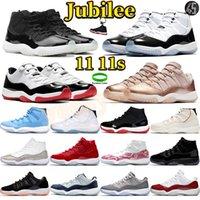 اليوبيل 25th الذكرى السنوية 11 رجل كرة السلة أحذية 11 ثانية أحذية رياضية عالية كونكورد 45 بانتون منخفضة بيضاء بلور أسطورة الرجال الأزرق الرجال المدربين الرياضة