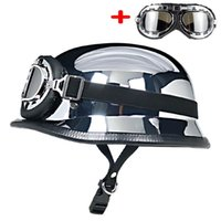 Cycling Helmets World War II German Style Motorcycle Helmet Capacetes Open Face Retro Cascos Para Moto
