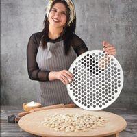 Ravioli Maker Pâte Pâte à pâtisserie Manti Miss Pâte Dumpling Outils de cuisine DIY WRAPPER 200 trous Rolling Pins Boards