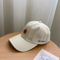 2021 cappello han edizione marea femminile cartone animato cartone animato ricamato tappo in popolare logo giapponese adorabile elegante studenti berretto da baseball in estate