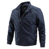 Erkek Ceketler Aiopeson Sonbahar Kış Rüzgarlık Erkekler Spor Rahat Iş Katı Basit Slim Fit Erkek Ceket Giyim