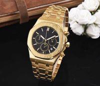 Mens Uhren Luxusuhr 2021 Alle Unterteilen Arbeit Freizeit Edelstahl Quarzarmband Haltestelle für Männer Relojes Geschenk