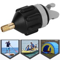 Rafts Inflatable Boats 2Pcs Air Pump Inflator Surfboard Paddle Board Canoeing Adapter Heads Accessory